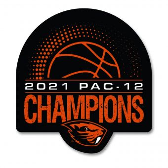 Basketball PAC-12 Champs 2021 - Decal