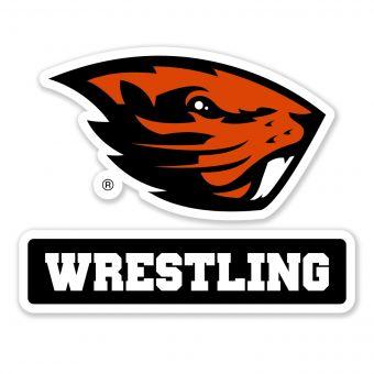 Beaver Wrestling - Decal