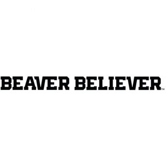 Oregon State - Beaver Believer One Color Decal