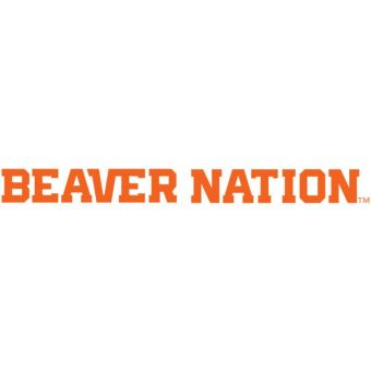 Oregon State - Beaver Nation One Color Decal