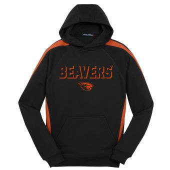 Oregon State Drop Shadow Pullover Hoodie