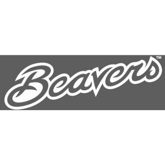 Oregon State - Cursive Beavers One Color Decal