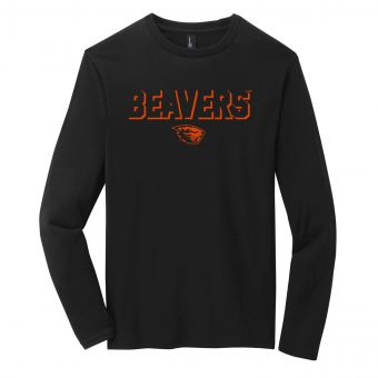 Drop Shadow Beavers | Long sleeve