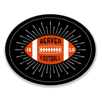 Football Rays Sticker