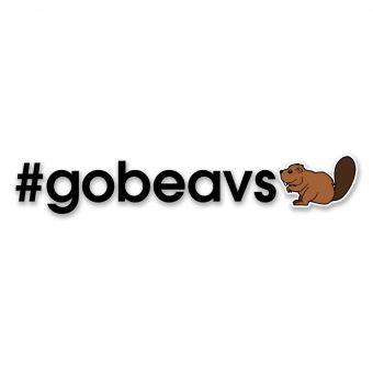 #GOBEAVS Emoji - Di-cut Decal - Black