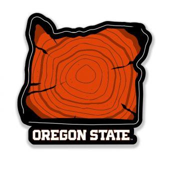 Oregon Rings Sticker