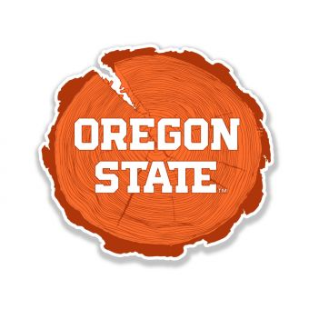 Oregon State Cross Section Sticker
