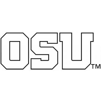 Oregon State - OSU Outline One Color Decal