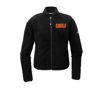 OSU The North Face Embroidered Fleece Jacket Black