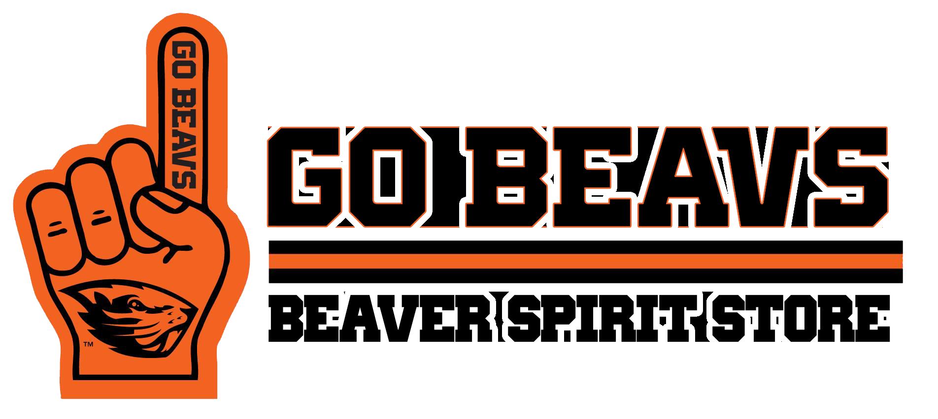 Cursive Beavers Baseball Tee - White