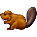Beaver Emoji