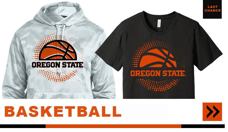 oregon state basketball apparel