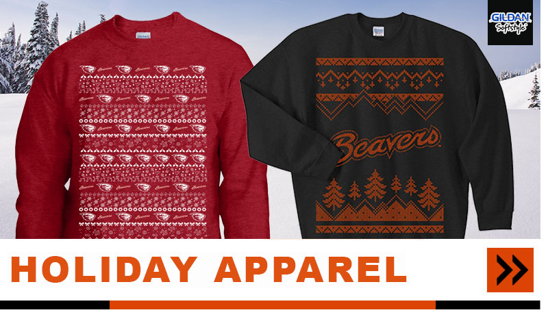 holiday beavers apparel